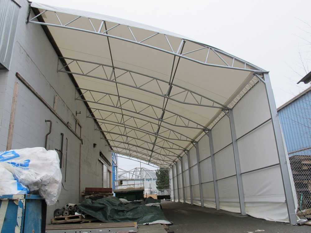 Construction Tents Enclosures : Ideal canopy tent structure party tents construction