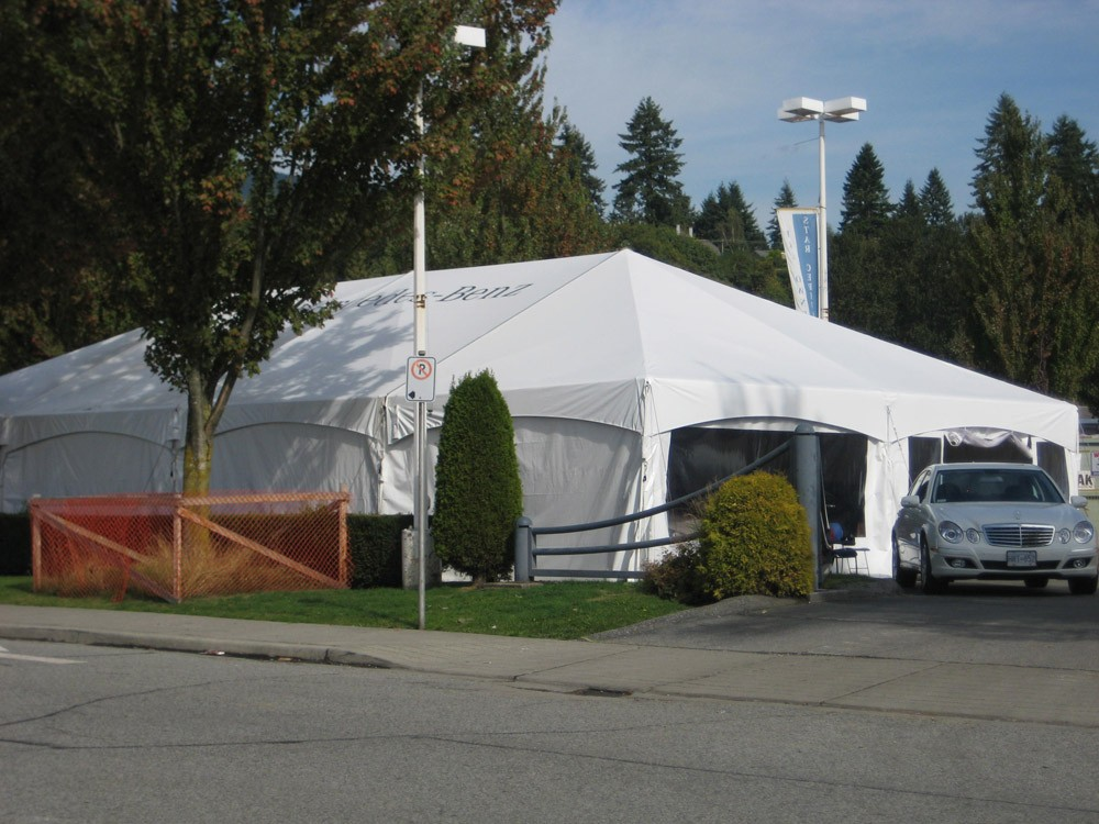 Construction Tarp Shelters : Ideal canopy tent structure party tents construction